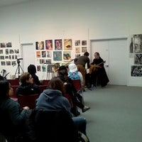 Photo taken at Trustman Art Gallery, Simmons College by Marissa W. on 1/31/2012