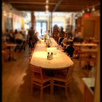 Photo taken at Le Pain Quotidien by Bob K. on 4/19/2012