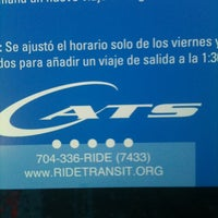 Photo taken at Charlotte Transportation Center (CTC) - Bus Terminal by Gloria S. on 7/6/2012