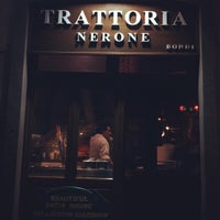 Photo taken at Nerone Trattoria by Jeong M. on 2/4/2012
