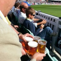 Photo taken at The Kia Oval by Ian H. on 8/31/2012