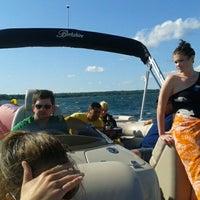 Photo taken at Mullet Lake by Justin K. on 6/24/2012