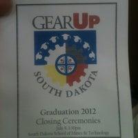 Photo taken at South Dakota School of Mines & Technology (SDSM&T) by Michael B. on 7/8/2012