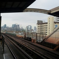 Photo taken at Nishinakajima-Minamigata Station (M14) by tomokyun と. on 7/31/2012