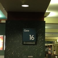 Photo taken at Gate 16 by Joe B (. on 7/18/2012