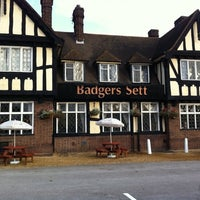 Photo taken at Badgers Sett (Beefeater) by Andrew J. on 9/23/2011