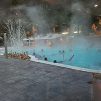 Photo taken at Ròseo Hotel Euroterme by Lo L. on 12/26/2011