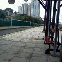 Photo taken at Estação Pirituba (CPTM) by Wallace G. on 7/11/2012