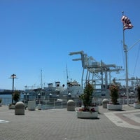 Photo taken at Oakland Ferry Terminal by Julianna on 7/20/2012