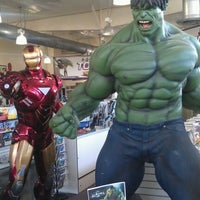 Photo taken at Phat Collectibles by Ruben G. on 5/14/2012