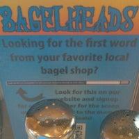 Photo taken at Bagelheads by Caelan B. on 6/21/2012