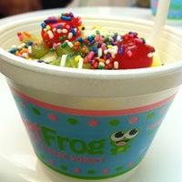 Photo taken at Sweet Frog Frozen Yogurt by Teri W. on 7/17/2011