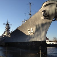 Photo taken at USS Wisconsin (BB-64) by Glen G. on 10/18/2011