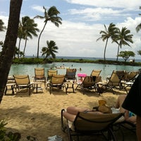 Photo taken at Grand Hyatt Kauai Resort & Spa by Ashleigh U. on 4/12/2012
