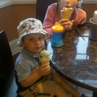 Photo taken at Moonlight Creamery by Hilary M. on 10/8/2011