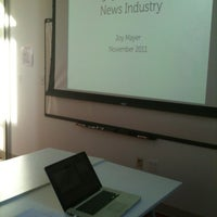 Photo taken at The Frank Lee Martin Journalism Library by Joy M. on 11/17/2011