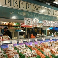 Photo taken at Pike Place Fish Market by Des S. on 11/11/2011