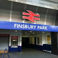 Photo taken at Finsbury Park Railway Station (FPK) by Pedro R. on 5/11/2012
