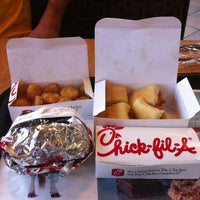 Photo taken at Chick-fil-A Cerritos by Hungry H. on 6/8/2012