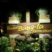 Photo taken at Baan Bang-la Restaurant by Oสูsน้oย_jomween. on 3/18/2012