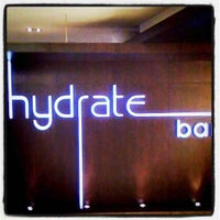 Photo taken at Hydrate Bar by Werner V. on 7/26/2011