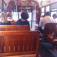 Photo taken at St. Charles Streetcar by Andrew H. on 10/28/2011