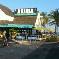 Photo taken at Aruba Beach Cafe by Nariyasu M. on 1/13/2012