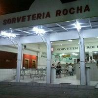 Photo taken at Sorveteria Rocha by Satie K. on 12/7/2011