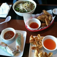 Photo taken at Pho vy by Jeanine W. on 10/13/2011