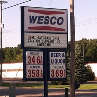Photo taken at Wesco Inc. Gas Station by Katherine A. on 7/8/2012