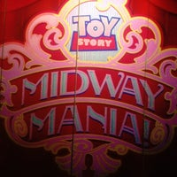 Photo taken at Toy Story Midway Mania! by ✌Maryanne D. on 3/24/2012