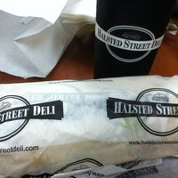 Photo taken at Halsted Street Deli by Gerald F. on 6/15/2012