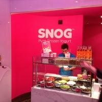 Photo taken at Snog Pure Frozen Yogurt by Hisham A. on 3/26/2012