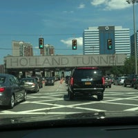 Photo taken at Holland Tunnel by Bill F. on 7/8/2012