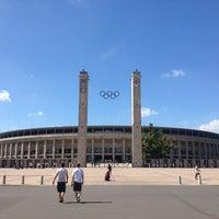 Photo taken at Olympiastadion by Hakan Ş. on 8/23/2012