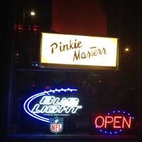 Photo taken at Pinkie Master's Lounge by Alecia O. on 3/11/2012