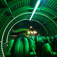 Photo taken at The Incredible Hulk Coaster by brian on 7/27/2012