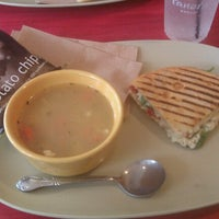 Photo taken at Panera Bread by Kelly B. on 8/22/2012