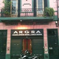 Photo taken at ARGRA - Asociación de Reporteros Gráficos de la República Argentina by Antonio B. on 4/4/2012