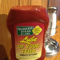Photo taken at Quaker Steak & Lube® by Alexandria S. on 5/13/2012