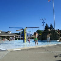 Photo taken at Niles Park District - Oasis Water Park by Joanne L. on 8/5/2012