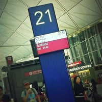 Photo taken at Gate 21 by Philip S. on 7/29/2012