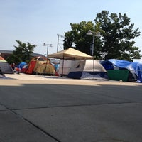 Photo taken at Nittanyville by Maddy on 8/30/2012