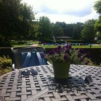 Photo taken at Fletcher Hotel-Restaurant Doorwerth-Arnhem by Mahmut S. on 7/29/2012