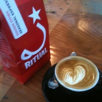 Photo taken at Ritual Coffee Roasters by Kyle W. on 9/24/2011