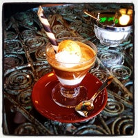 Photo taken at Gelato Bar & Espresso Caffe by Gonzo on 1/31/2012