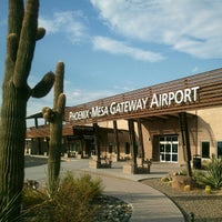 Photo taken at Phoenix-Mesa Gateway Airport (AZA) by Vanessa G. on 7/13/2012