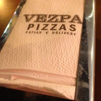 Photo taken at Vezpa Pizzas by Marcos C. on 8/11/2012