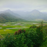 Photo taken at Hanalei Valley Lookout by Nguyen D. on 4/28/2012