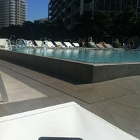 Photo taken at Epic Rooftop Pool by Javier Alberto L. on 1/19/2012